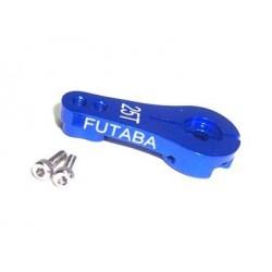Brazo de Servo direccion de Aluminio - FUTABA 25T - Azul