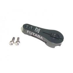 Brazo de Servo direccion de Aluminio - FUTABA 25T - Color Titanio