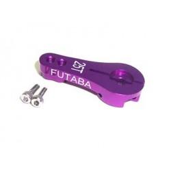 Brazo de Servo direccion de Aluminio - FUTABA 25T - Rosa
