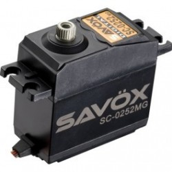 Servo SAVOX SC-0252MG Digital 10.5 Kgs - Coreless