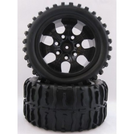 8020 - Monster Truck 1/10 Tires x2 pcs