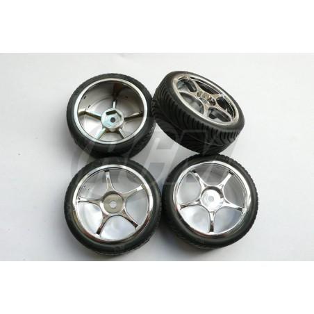 11169 - Set ruedas CARSON para pista 1/10 x4 uds.