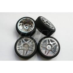 13981 - Set ruedas CARSON para pista 1/10 x4 uds.