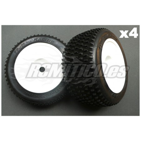 HB004 - HoBao tires Medium compound MEDIO 1/8 Truggy x4 pcs
