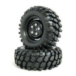 210051 - Ruedas Crawler con Foam 96 mm - Negra x2