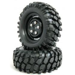 210071 - Ruedas Crawler con Foam 108 mm - Negra x2