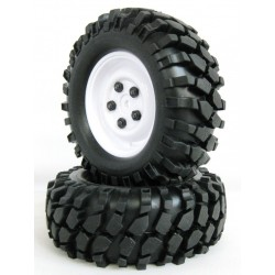210072 - Ruedas Crawler con Foam 108 mm -Blanco x2