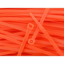 Bridas de Nylon 100 mm - NARANJAS x20 uds.