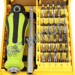 Caja1 - Conjunto de puntas y Destornillador