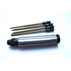 Destornillador Allen dinamometrico - 1.5, 2.0, 2.5 y 3.0 mm