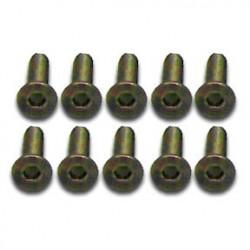 57612K - Tornillo de Titanio - 3x12mm - Allen x10
