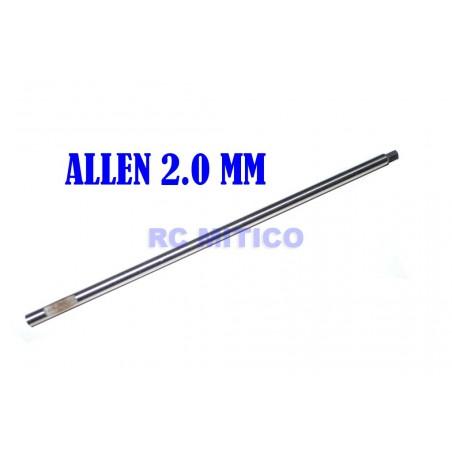 H2.0 - Repuesto destornillador Allen 2.0 mm