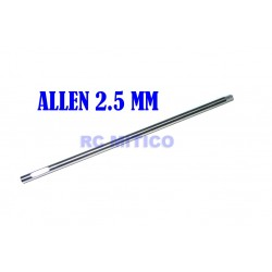H2.5 - Repuesto destornillador Allen 2.5 mm