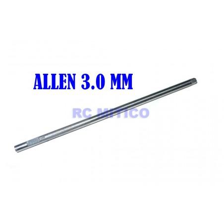 H3.0 - Repuesto destornillador Allen 3.0 mm