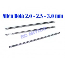 SET-QQ - Repuesto Allen Bola 2.0 - 2.5 - 3.0 mm
