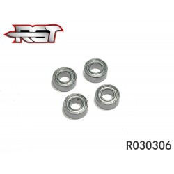 R030306 - Ball bearing 3x6x2.5 mm - 4 uds.
