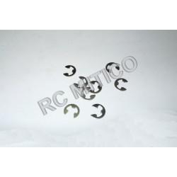 18035 - E-Clips Diametro 4.0 mm - 8 uds.