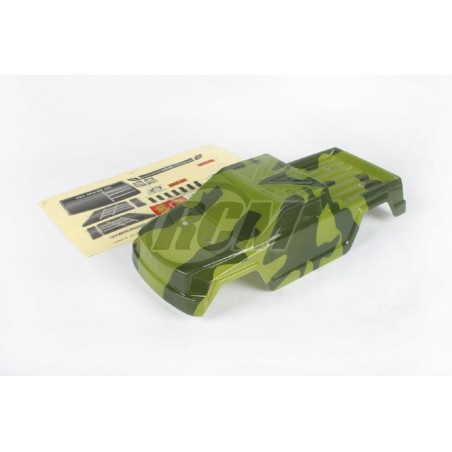 6269 - Painted GREEN Body for Monster Truck 1/16