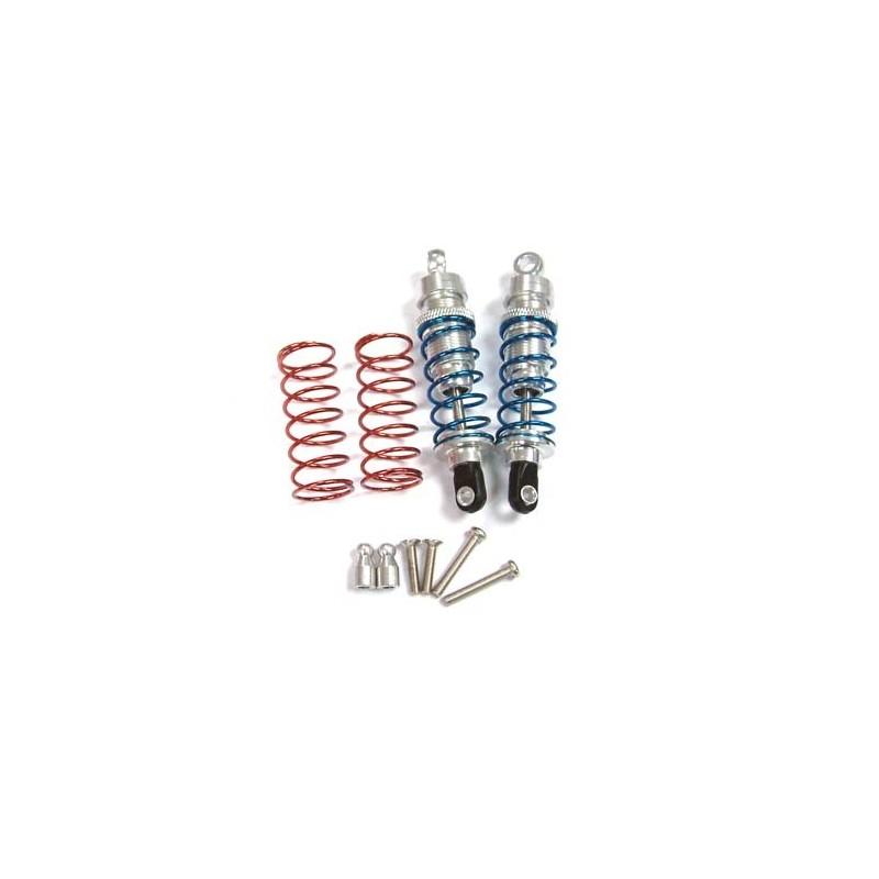 58280T - Amortiguadores de aluminio 80 mm + muelle