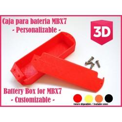 Caja de bateria para Mugen MBX7