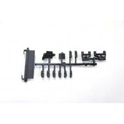 E2303 - Soportes y bandeja de radio Mugen MBX7