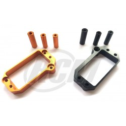 HB-E817-U2 - Aluminum Servo Mount for E817 - Orange