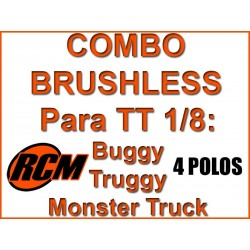 Combo Hobbywing + Motor RCM 4268 2050 KV