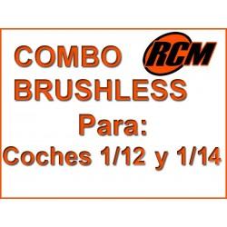 Brushless combo 1/12 and 1/14 + Motor 3800 kv + ESC 80A
