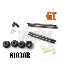81030R - SET Vastagos 4 mm para Amortig. Bigbore - GT