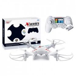 Drone SJRC X300-1C 2.4 Ghz - Camara 2MP 1080x720 px - BLANCO