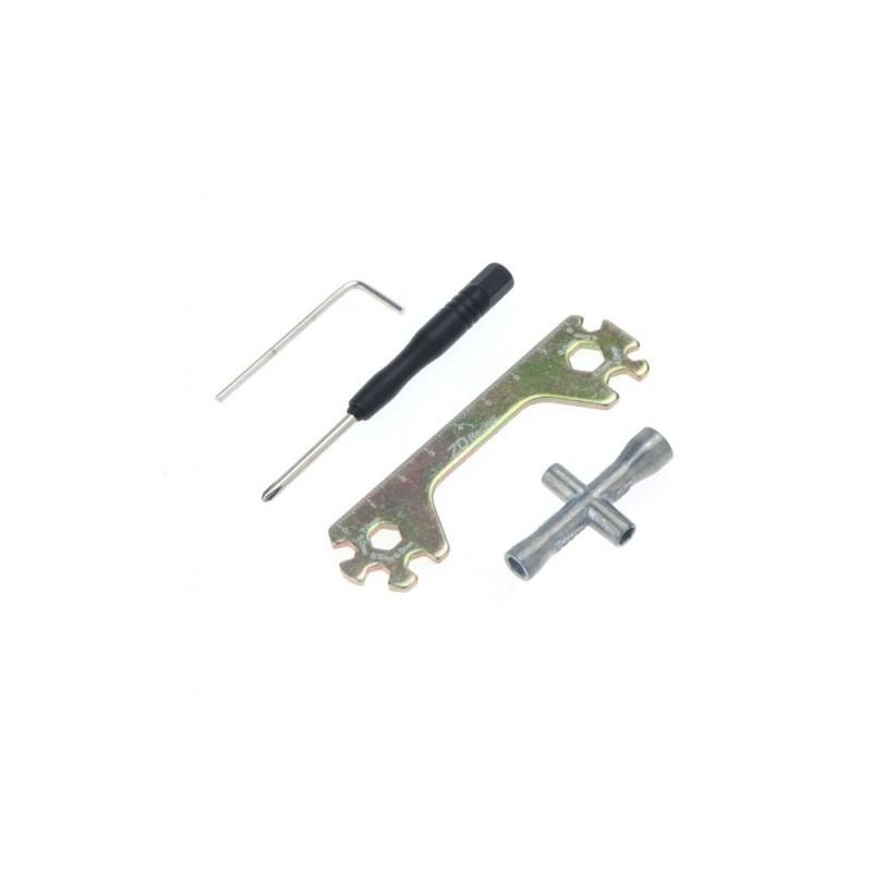 Set de herramientas para coche