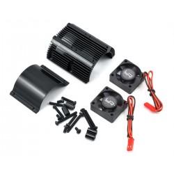 0261BK - Ventiladores + Disipador 40.8 mm (Negro)