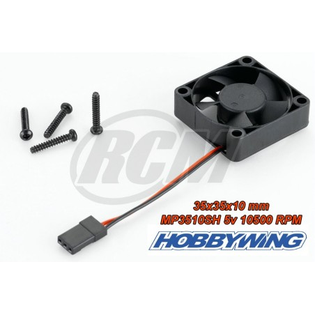 Ventilador MP3510SH 10500RPM 5V 0.25A - Hobbywing