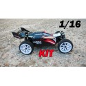 RCM Buggy Plasma BX16 Brushless 1/16 - KIT