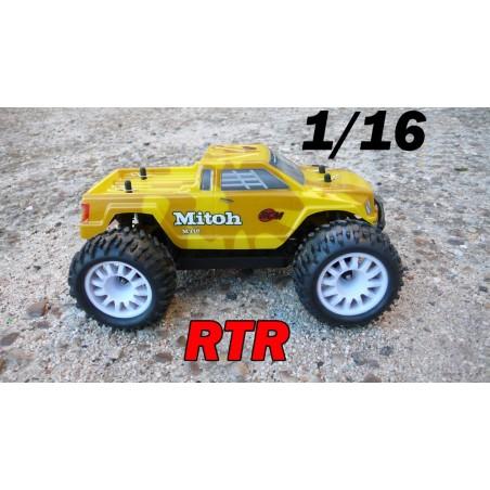 RCM Mitoh MT16 Monster Truck Brushless 1/16 - RTR