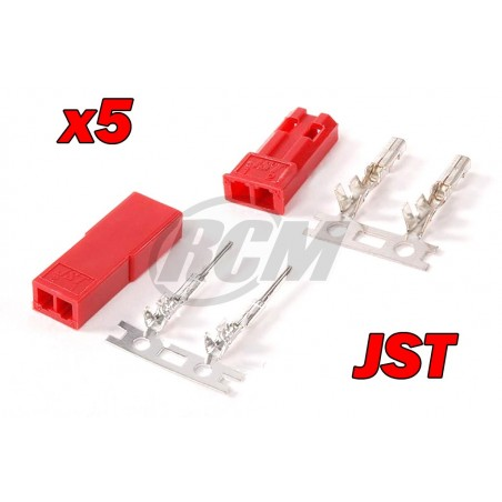 Conector JST (5 Pares)