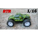 RCM Mitoh MT16 Monster Truck Brushless 1/16 - RTR (GREEN)