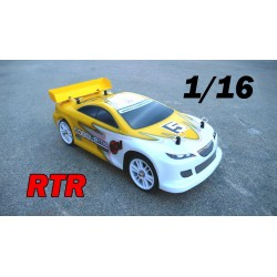 RCM Cobble TC16 On Road Brushless 1/16 - RTR AMARILLO