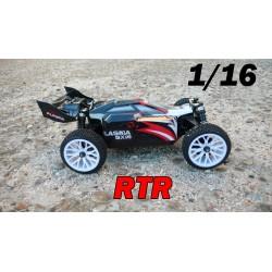 RCM Plasma BX16 Buggy Brushless 1/16 - RTR (ROJO)