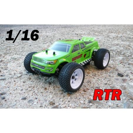 RCM Berget TG16 Truggy Brushless 1/16 - RTR (VERDE)