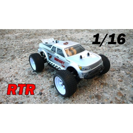 RCM Berget TG16 Truggy Brushless 1/16 - RTR (GRIS)