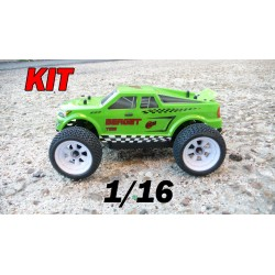 RCM Berget TG16 Truggy Brushless 1/16 - KIT (VERDE)