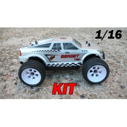 RCM Berget TG16 Truggy Brushless 1/16 - KIT (GRIS)