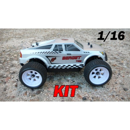 RCM Berget TG16 Truggy Brushless 1/16 - KIT (GREY)