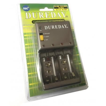 Cargador - Descargador de baterias Ni-Cd-Ni-Mh R03 / R06 / 9v