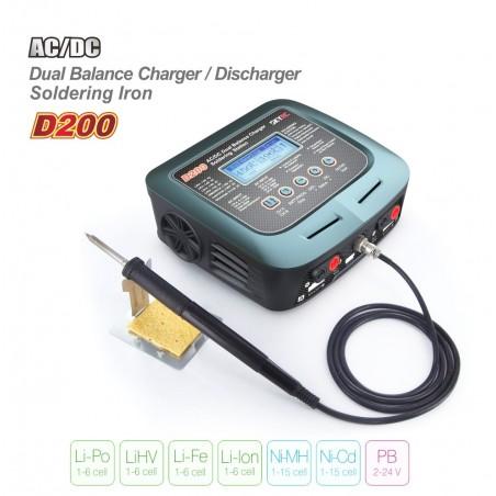Cargador Dual SKYRC D200 - 200W+100W