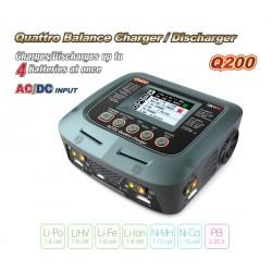 Cargador Dual SKYRC Q200 (4 Salidas)