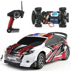 Rally RC WL Toys A949 1/18 - RTR (ROJO)