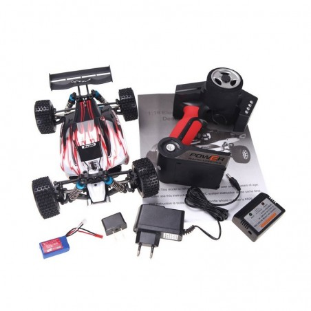 Buggy WL Toys A959 1/18 - RTR (RED)