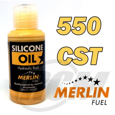 Merlin Shock Oil 550 CST - 80ML